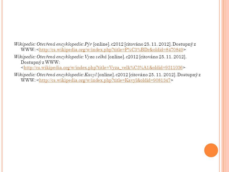 Wikipedie: Otevřená encyklopedie: Pýr [online]. c2012 [citováno 25. 11